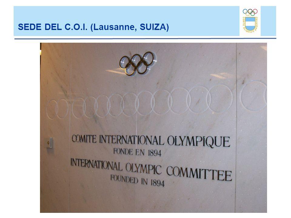 SEDE DEL C.O.I. (Lausanne, SUIZA)