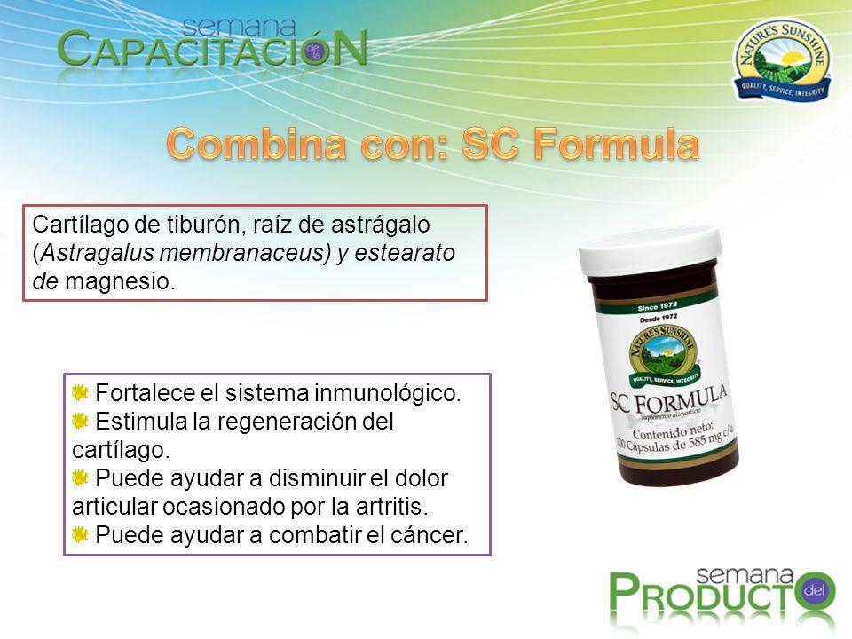 Combina con: SC Formula