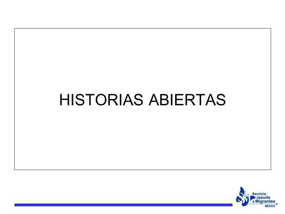 HISTORIAS ABIERTAS
