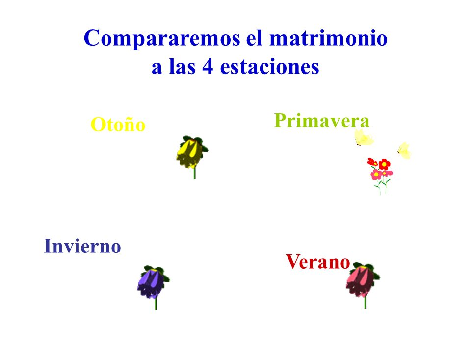 Compararemos el matrimonio