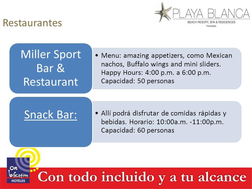 Miller Sport Bar & Restaurant