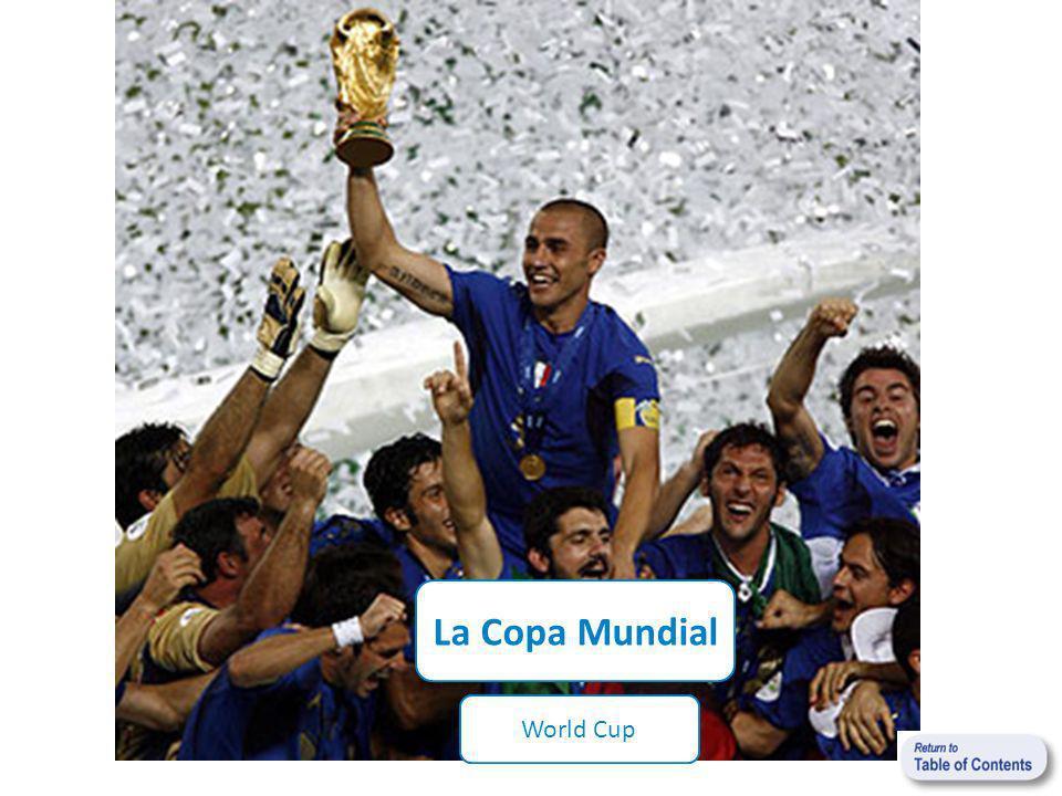 La Copa Mundial World Cup