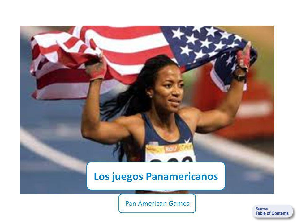 Los juegos Panamericanos