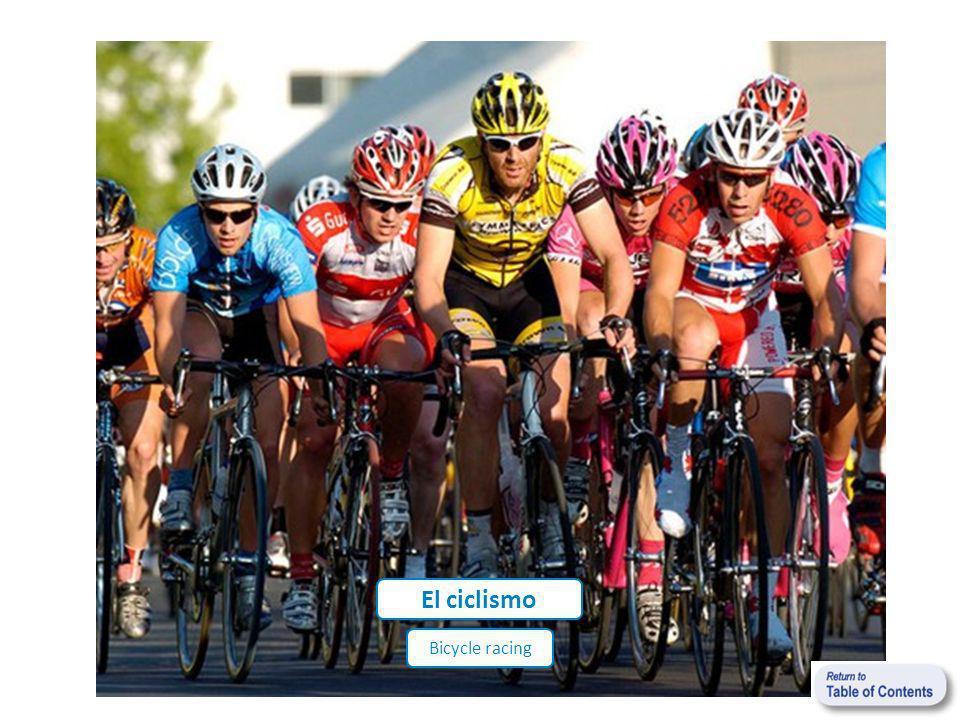 El ciclismo Bicycle racing