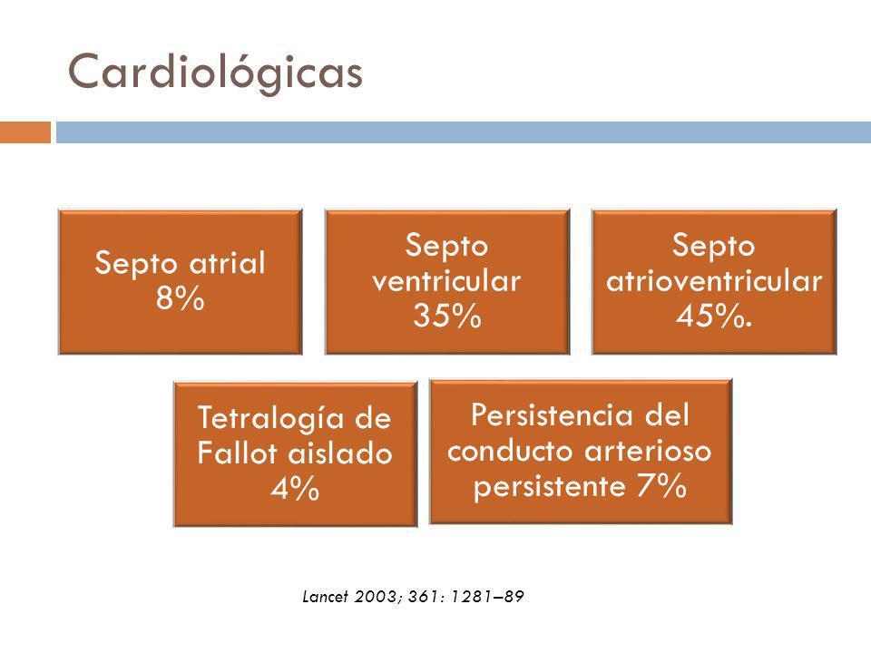 Cardiológicas Lancet 2003; 361: 1281–89