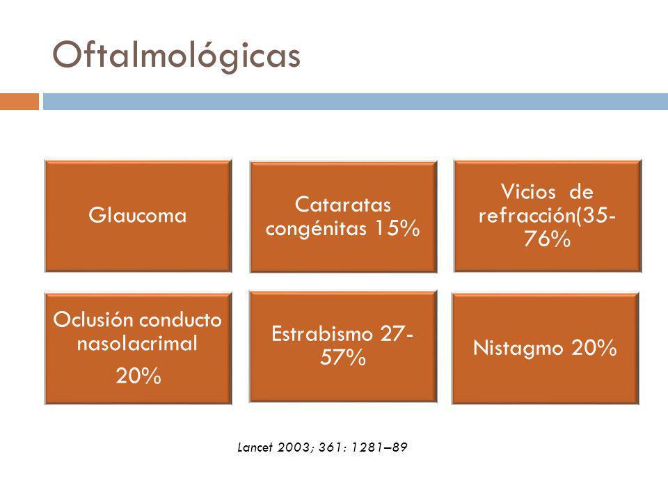 Oftalmológicas Lancet 2003; 361: 1281–89