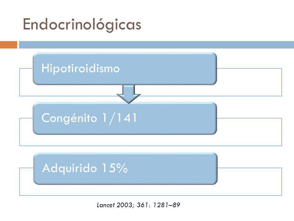 Endocrinológicas Lancet 2003; 361: 1281–89