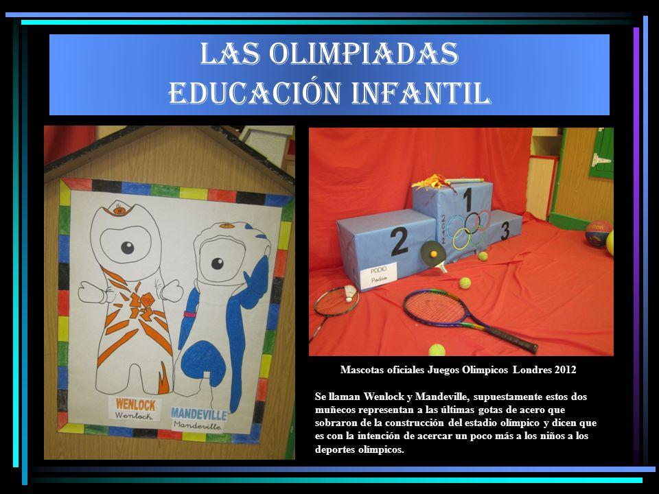 LAS OLIMPIADAS EDUCACIÓN INFANTIL