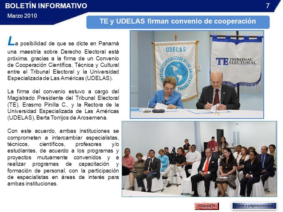 TE y UDELAS firman convenio de cooperación