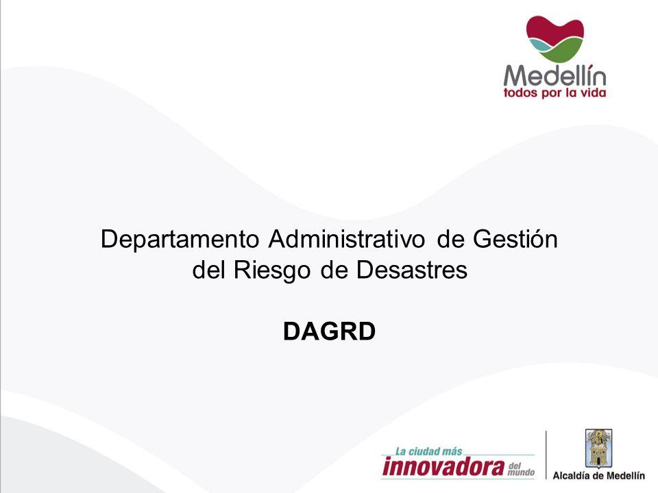 Departamento Administrativo de Gestión del Riesgo de Desastres DAGRD