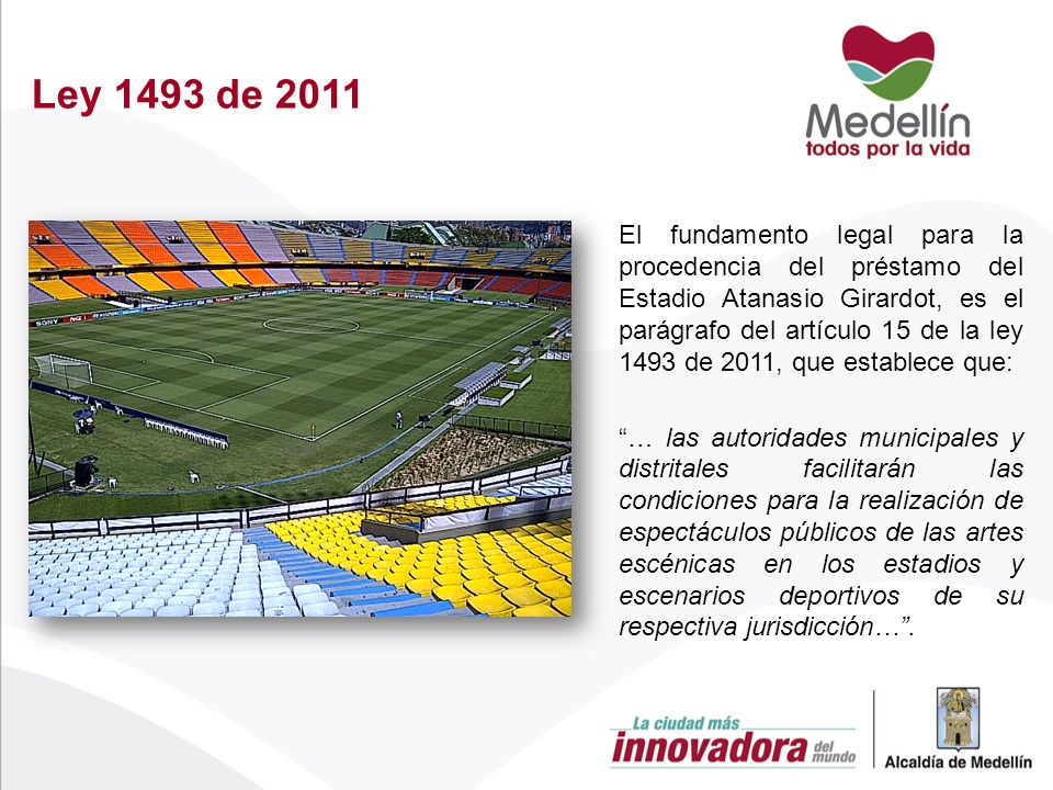 Ley 1493 de 2011