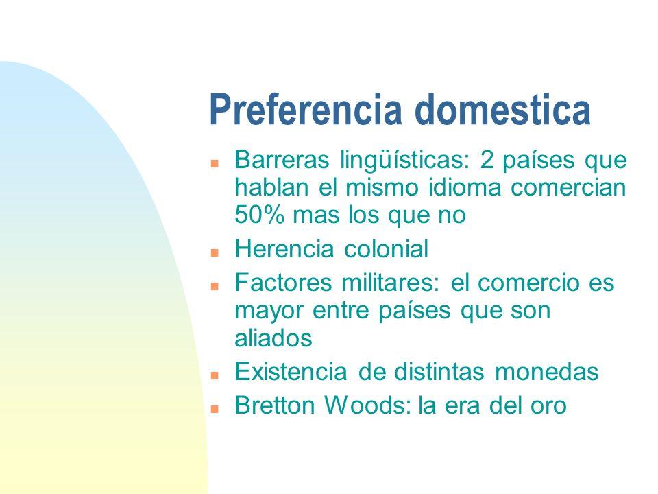 Preferencia domestica