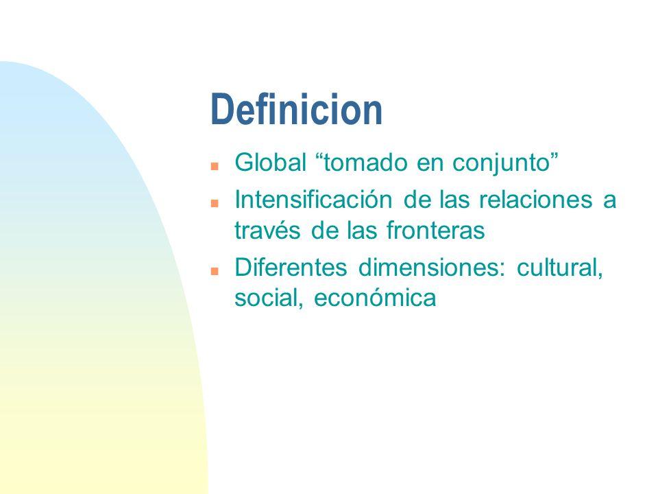Definicion Global tomado en conjunto