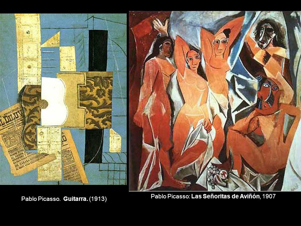 Pablo Picasso: Las Señoritas de Aviñón, 1907