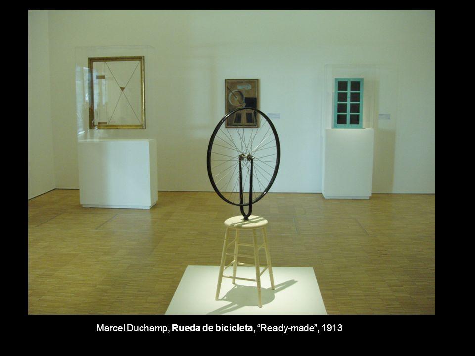 Marcel Duchamp, Rueda de bicicleta, Ready-made , 1913
