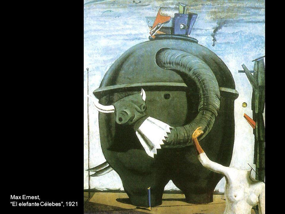 Max Ernest, El elefante Célebes , 1921