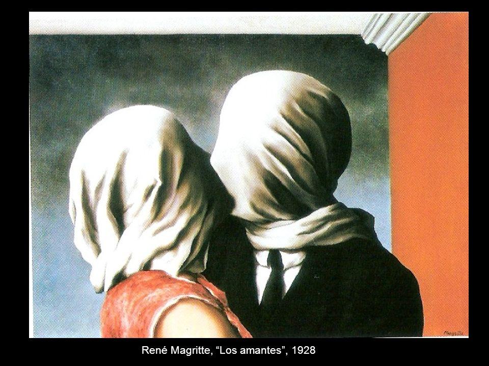 René Magritte, Los amantes , 1928