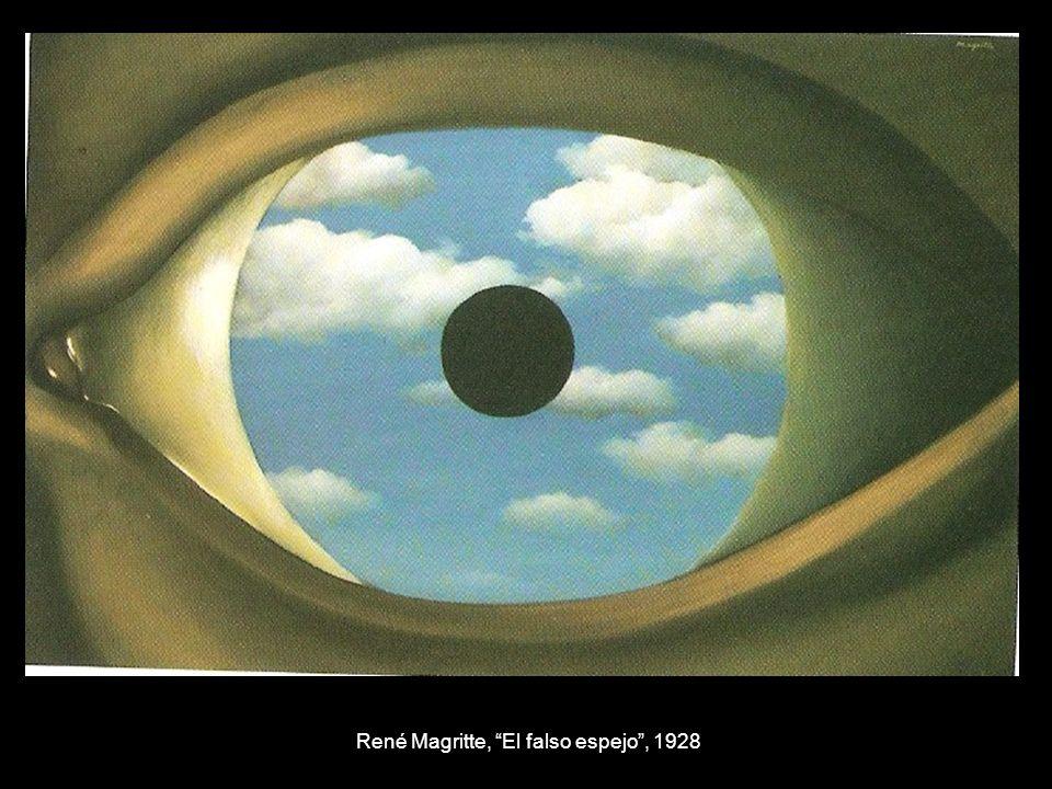 René Magritte, El falso espejo , 1928