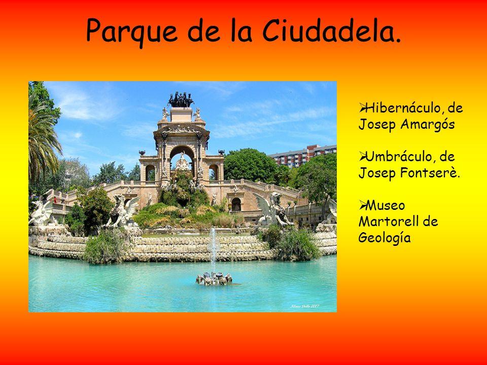 Parque de la Ciudadela. Hibernáculo, de Josep Amargós