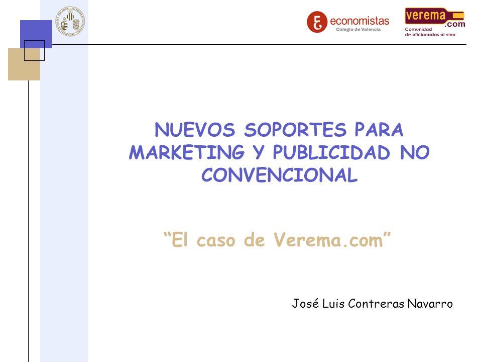 NUEVOS SOPORTES PARA MARKETING Y PUBLICIDAD NO CONVENCIONAL