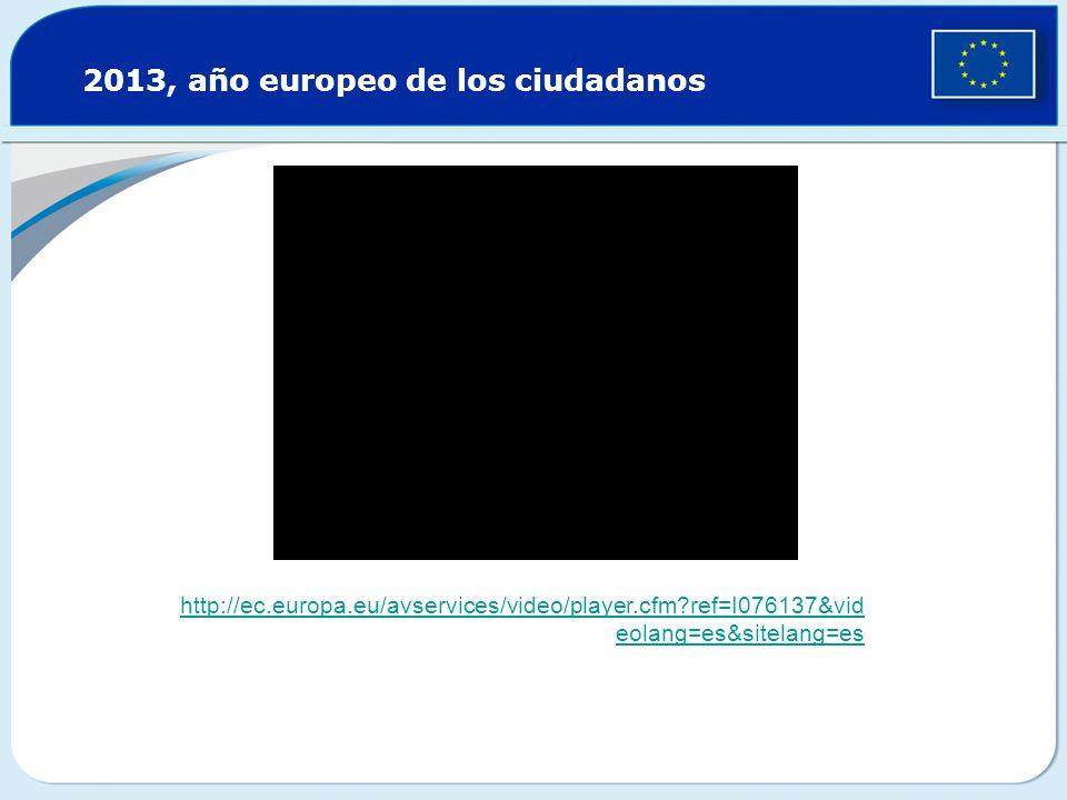 2013, año europeo de los ciudadanos