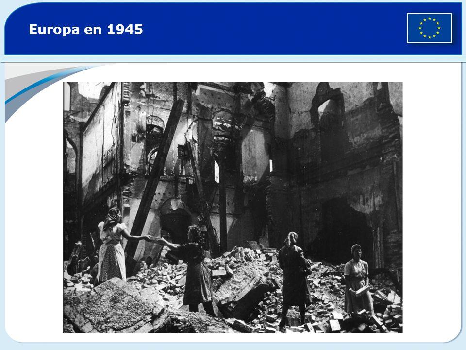 Europa en 1945