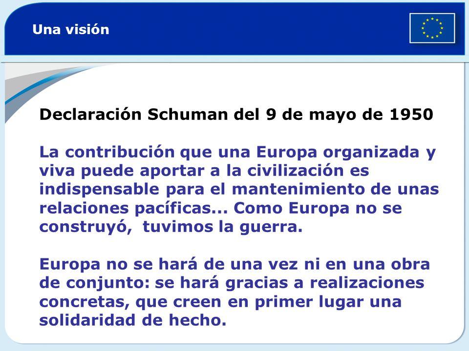Declaración Schuman del 9 de mayo de 1950
