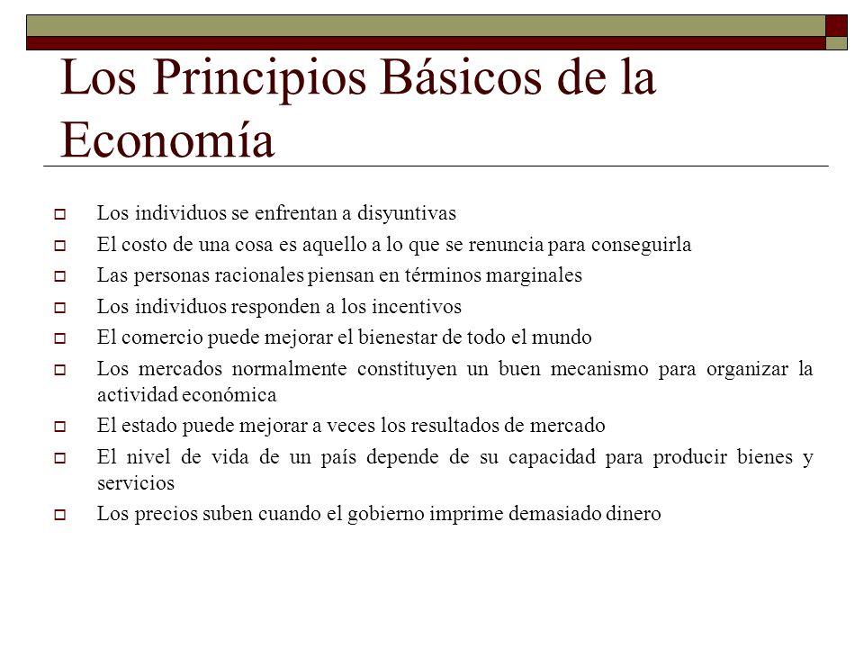 Los Principios Básicos de la Economía