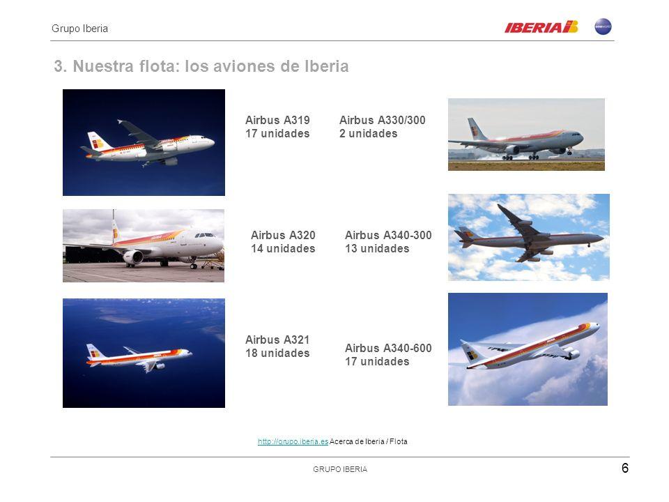 3. Nuestra flota: los aviones de Iberia