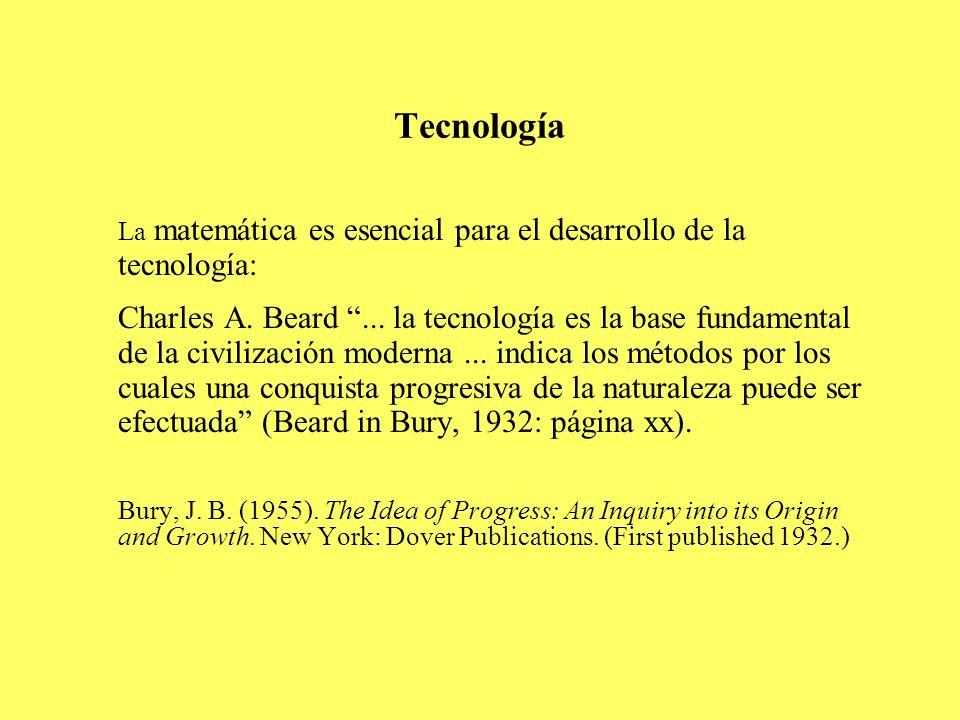 Tecnología La matemática es esencial para el desarrollo de la tecnología: