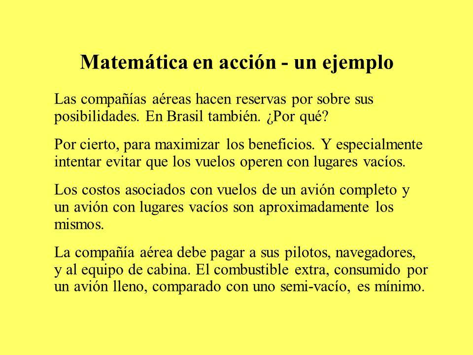 Matemática en acción - un ejemplo