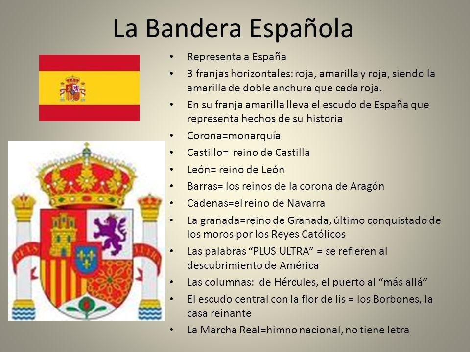 La Bandera Española Representa a España