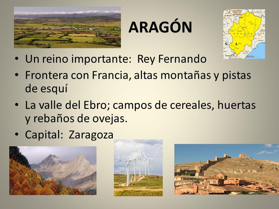 ARAGÓN Un reino importante: Rey Fernando