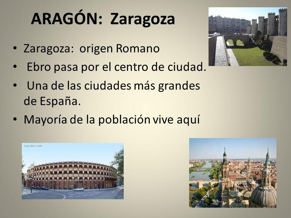ARAGÓN: Zaragoza Zaragoza: origen Romano