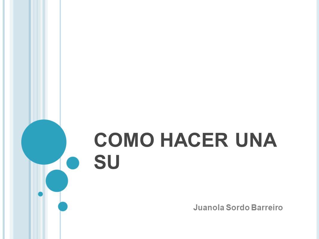 Juanola Sordo Barreiro