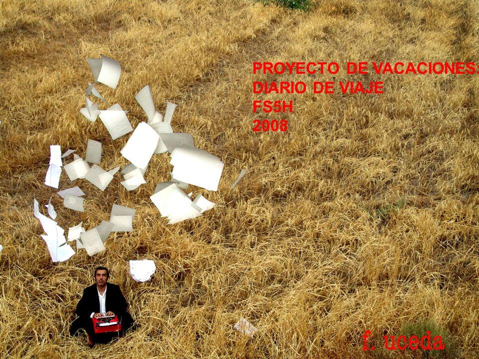 PROYECTO DE VACACIONES: