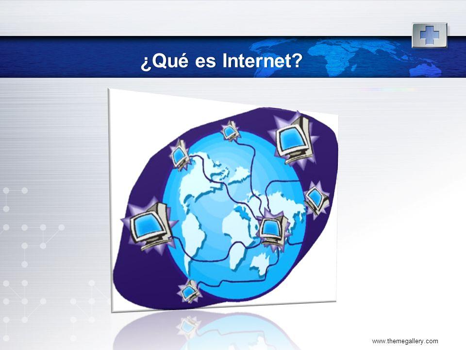 ¿Qué es Internet www.themegallery.com