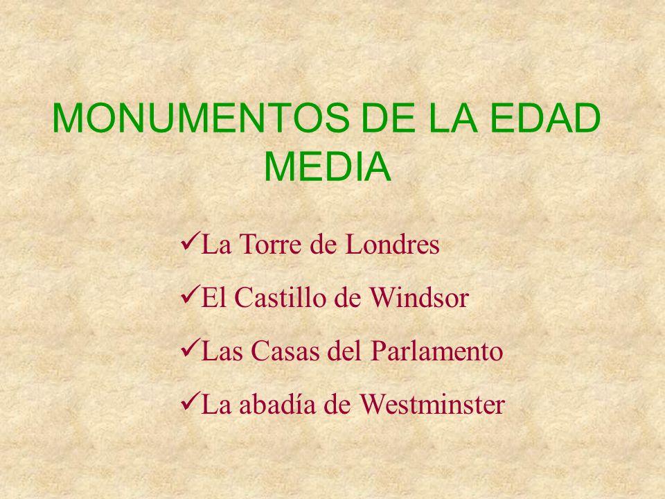 MONUMENTOS DE LA EDAD MEDIA