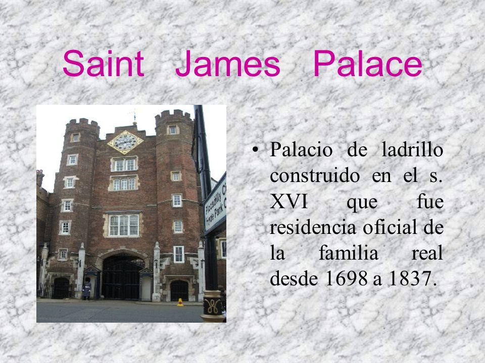 Saint James Palace Palacio de ladrillo construido en el s.