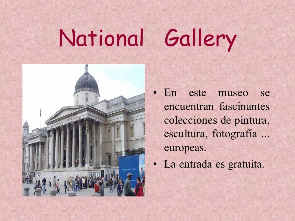 National Gallery En este museo se encuentran fascinantes colecciones de pintura, escultura, fotografía ... europeas.