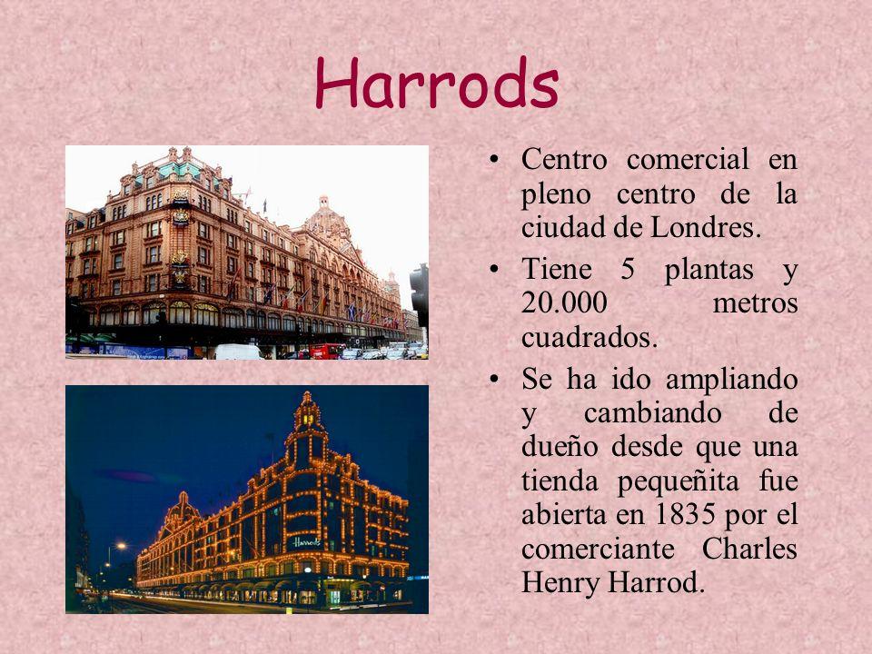 Harrods Centro comercial en pleno centro de la ciudad de Londres.