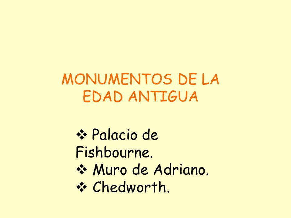 MONUMENTOS DE LA EDAD ANTIGUA