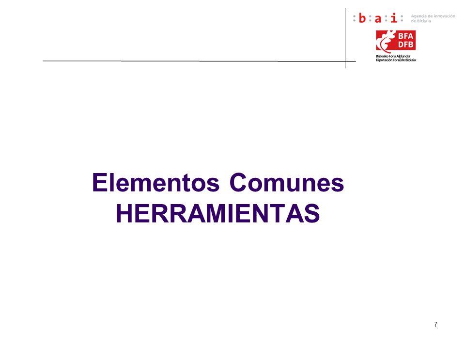 Elementos Comunes HERRAMIENTAS