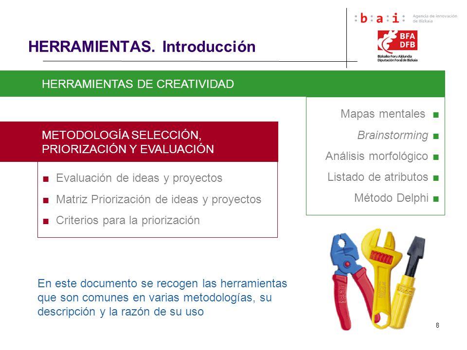 HERRAMIENTAS. Introducción