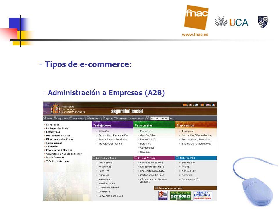 Tipos de e-commerce: Administración a Empresas (A2B)