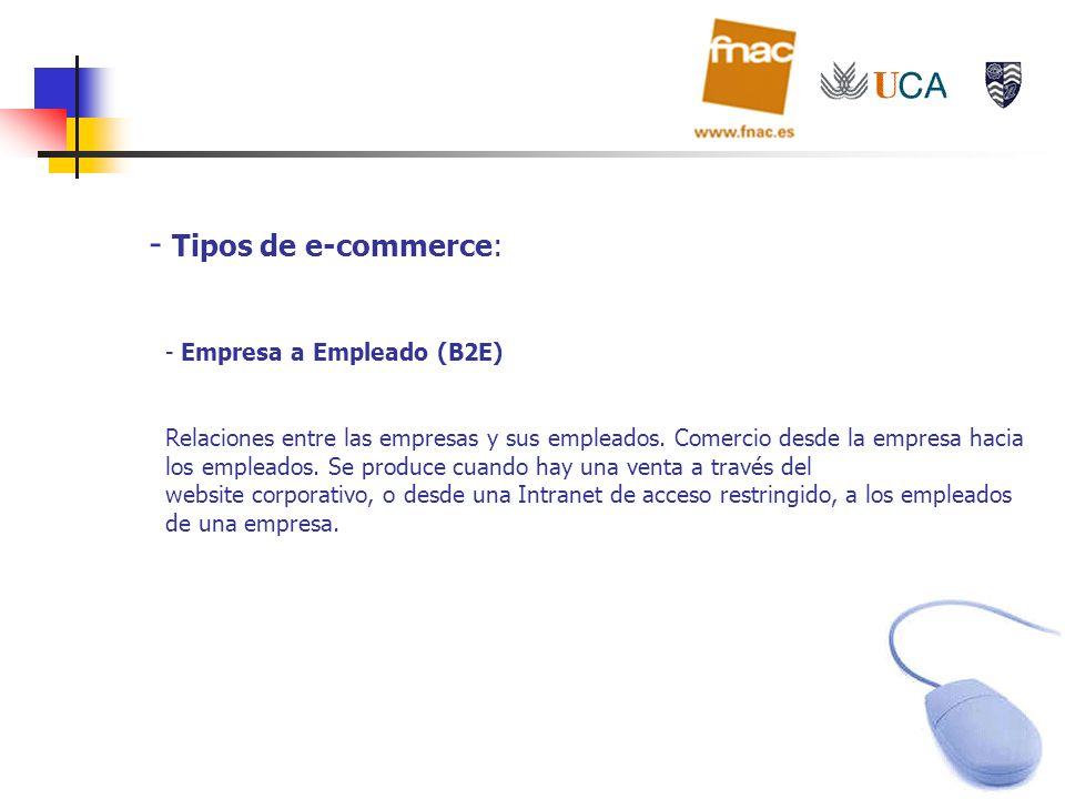 Tipos de e-commerce: Empresa a Empleado (B2E)
