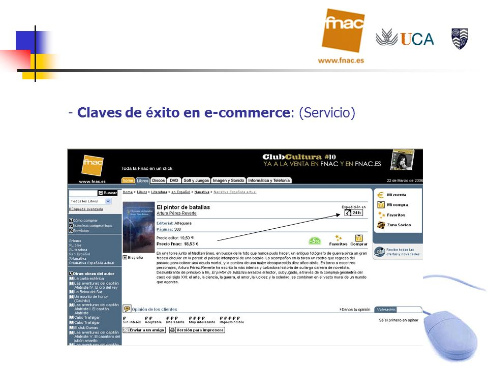 Claves de éxito en e-commerce: (Servicio)