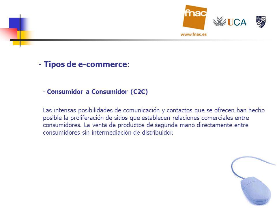 Tipos de e-commerce: Consumidor a Consumidor (C2C)