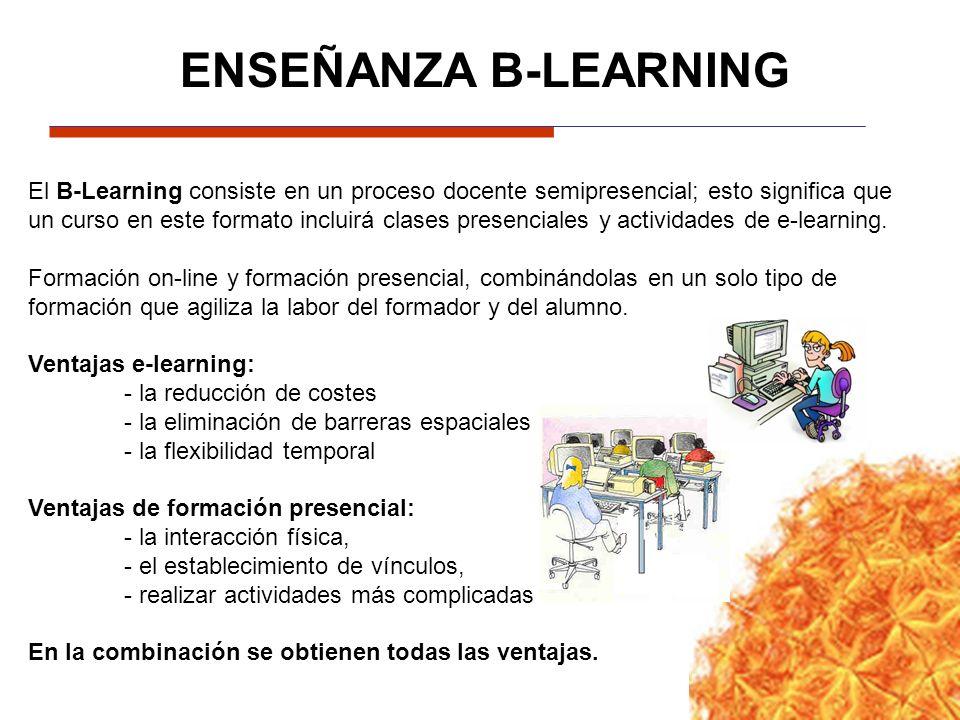 ENSEÑANZA B-LEARNING