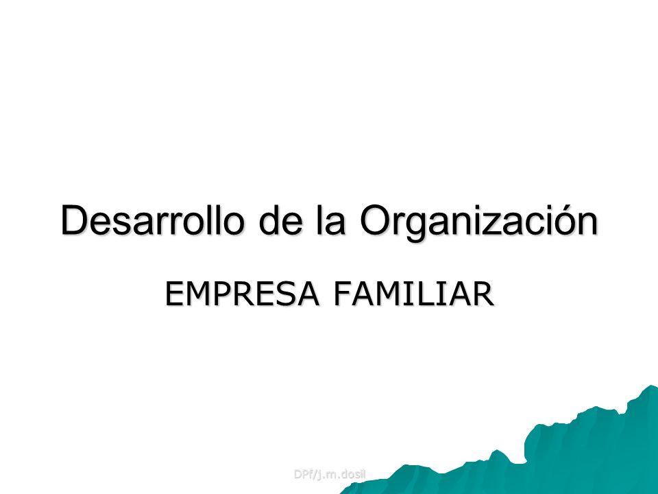 Desarrollo de la Organización